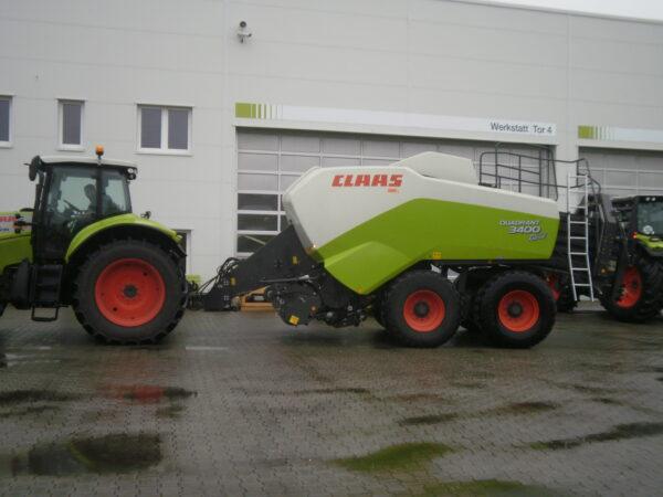 CLAAS Quadrant 3400 RC , presa za quadrant bale