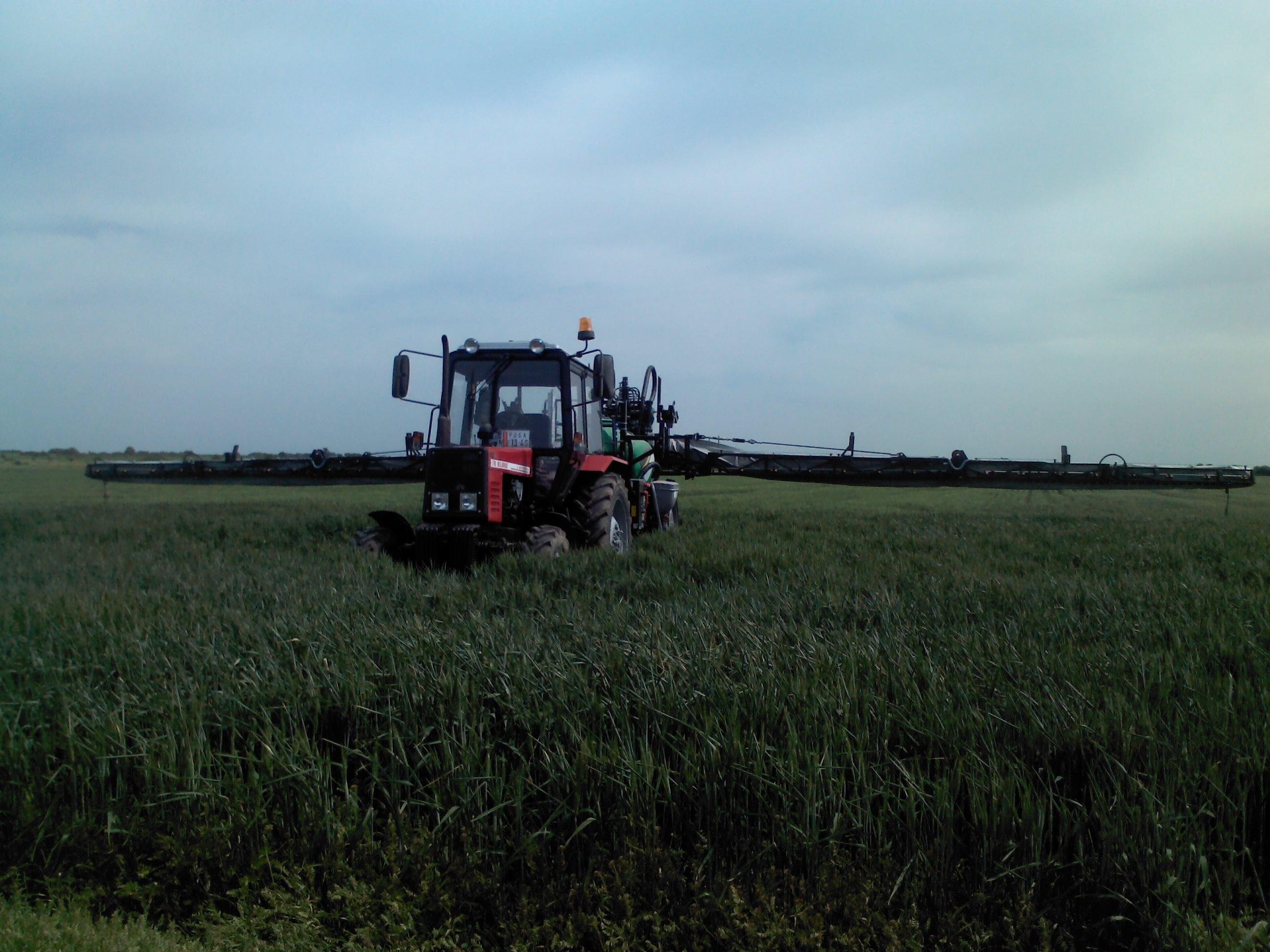 Unigreen Campo 22 C u polju, testiranje