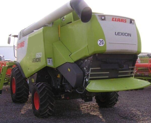 Claas lexion 650,2012,sl.7