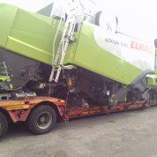 Slike transporta kombajna Claas Lexion  530