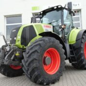 CLAAS AXION 850 CEBIS
